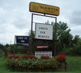 Greenville Sc Mauldin Road Entrance To Martin Nursery